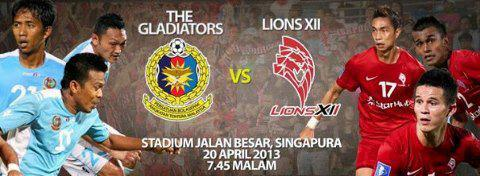 Live Streaming Lions XII vs ATM 20 April 2013 - Liga Super 2013