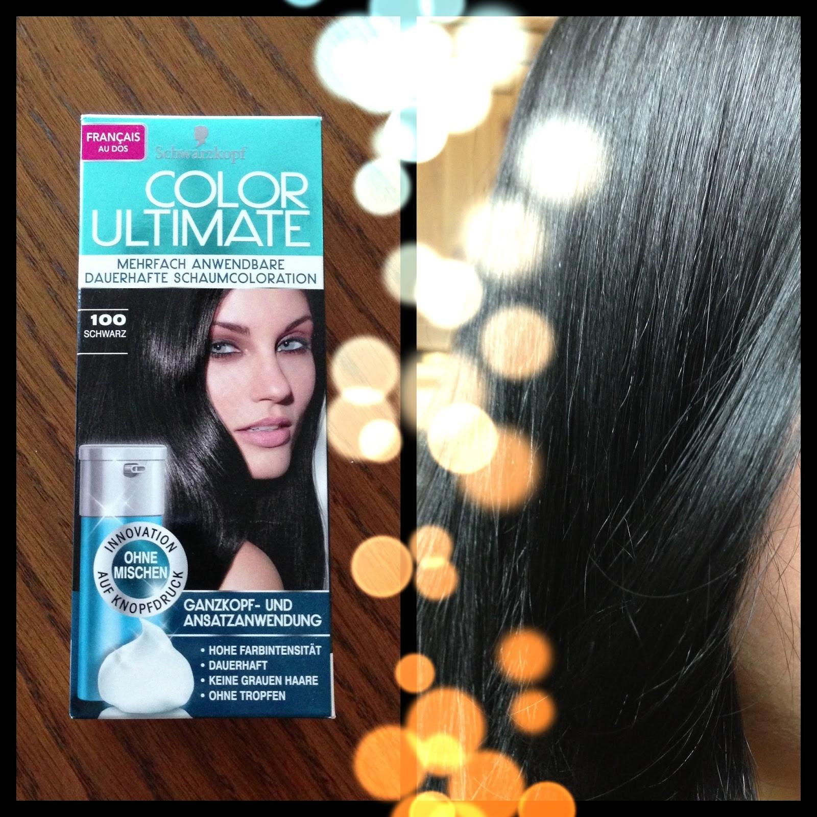 hair color ultimate la coloration mousse et rutilisable signe schwarzkopf - Coloration Rutilisable