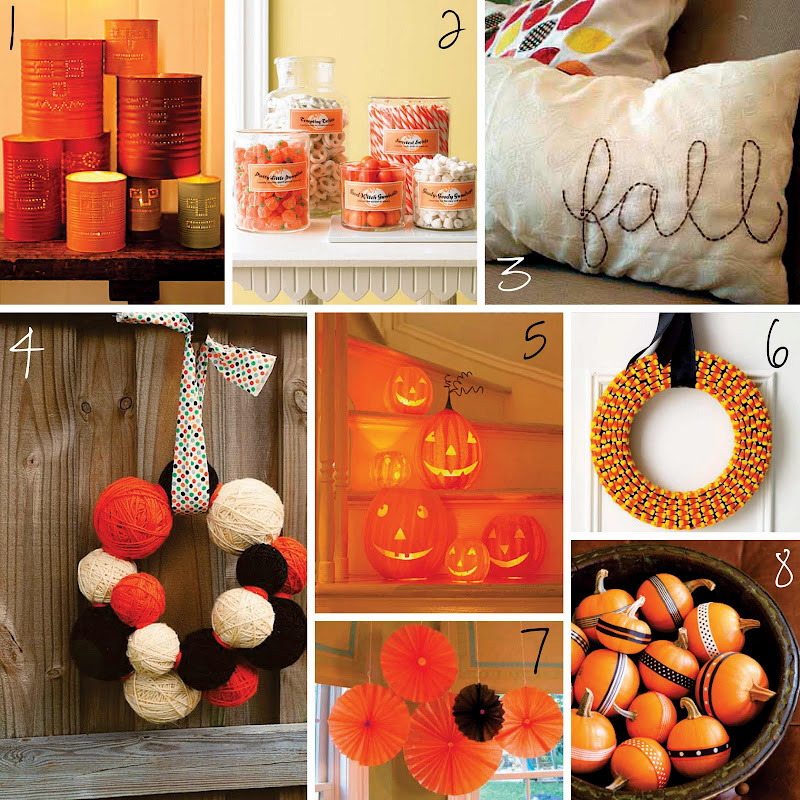 diy fall the creative place fall and diy roundup
