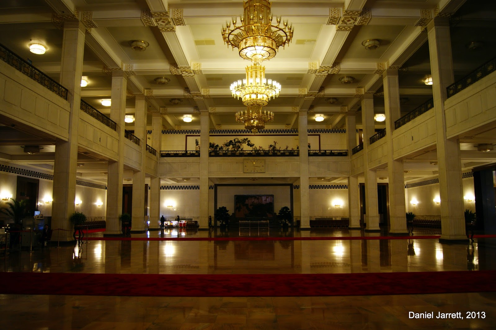 The Great Hall of the People, Inside