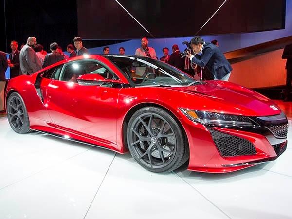 2016 Acura NSX price
