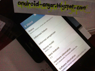 Foto Unbox Zenfone 4 Android 4.3 JellyBean to 4.4 KitKat upgrade