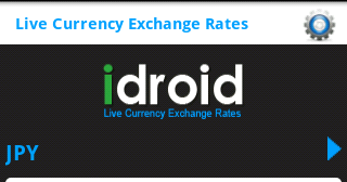 Live forex exchange rates