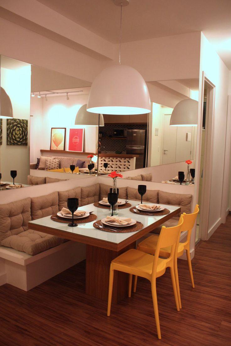 Banco De Canto Para Sala De Jantar ~ Canto alemão moderno para espaços pequenos + 17 inspirações
