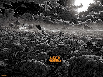 It's the Great Pumpkin, Charlie Brown Nicolas Delort Halloween Poster Giveaway