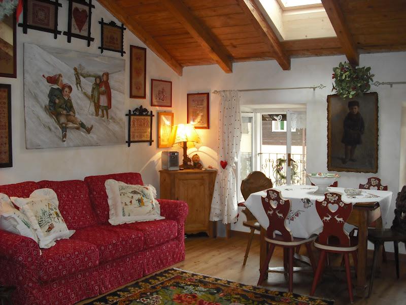 Bottega del decoro variazione su arredo casa di montagna - Mobili per case di montagna ...