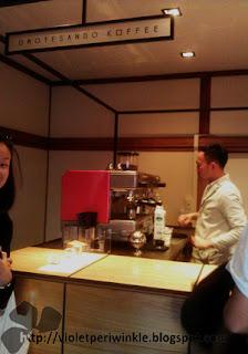 counter coffee barista