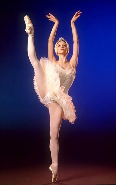 Lucia Lacarra. Bailarina.