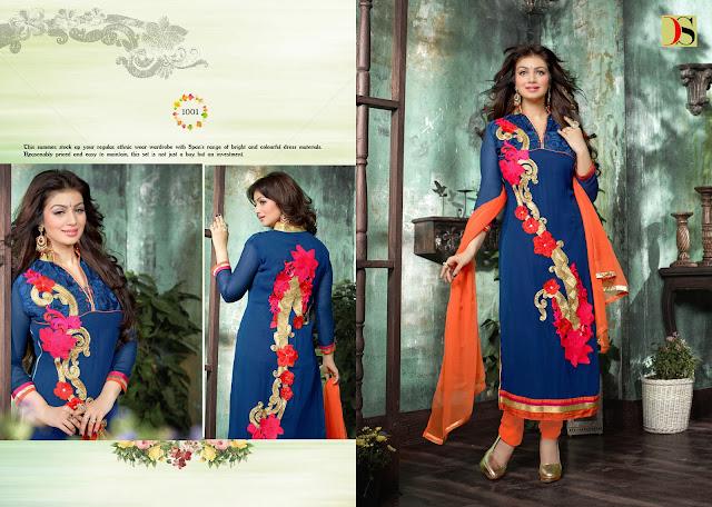 Apsara – Ayesha Takia Faux Georgette Long Salwar Suit Wholesalers