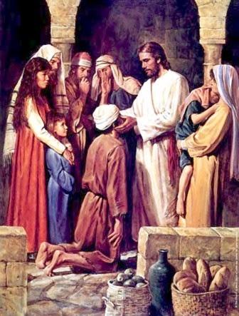 MÉDITATIONS CHRÉTIENNES POUR TOUTE L`ANNÉE - Pere Buse`e - Cie de Jésus - année 1708 Jesus-healing-blind