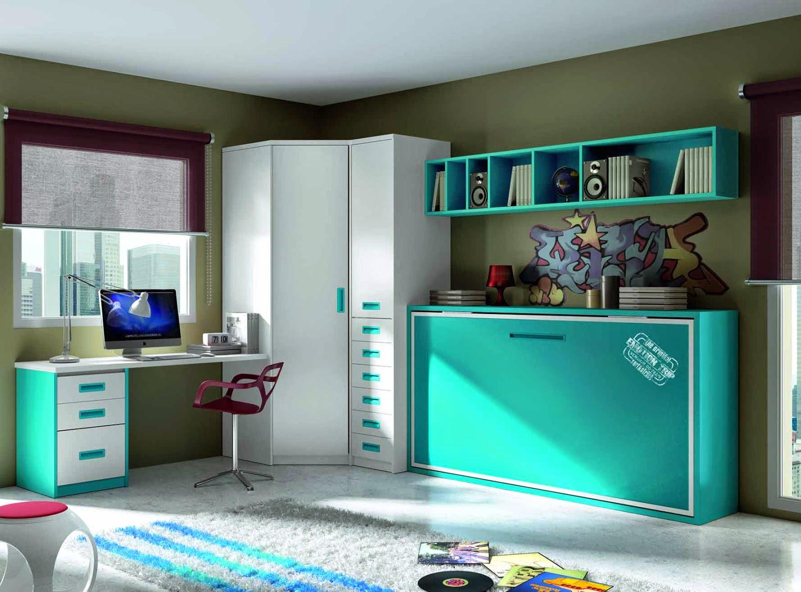 Oh la la oui - Habitaciones juveniles espacios pequenos ...