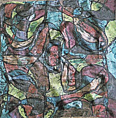 "Copper-tone (22"" X 22"") 01/11/2010"