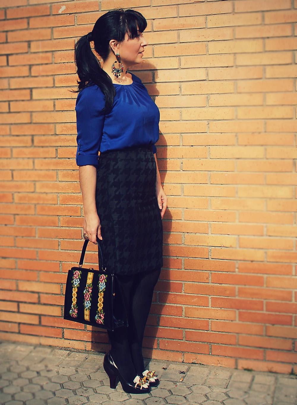 blusa+azul+eléctrico