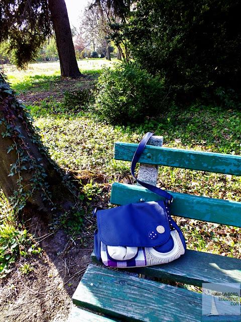 geanta in gradina botanica bucuresti