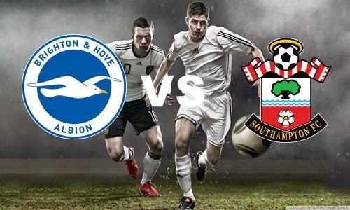 Prediksi Skor Terjitu Brighton vs Southampton jadwal 01 agustus 2014