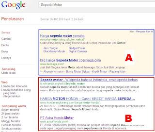 penipuan iklan di google