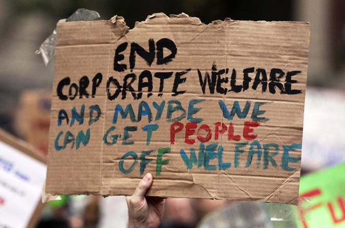 end corporate welfare