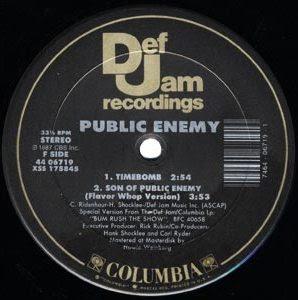 Public Enemy – Public Enemy #1 (VLS) (1987) (192 kbps)