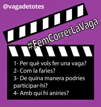 #FemCorrerLaVaga