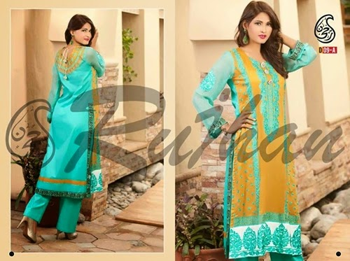 Rujhan Cotton Collection 2014