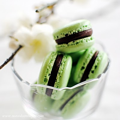desserts+++green+colored+desserts+++macarons+recipe+++green+macarons ...