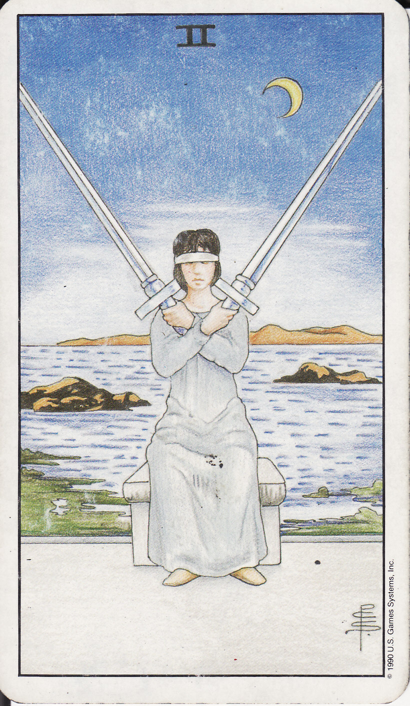 TAROT - The Royal Road: 2 TWO OF SWORDS II