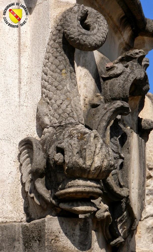ROSIERES-AUX-SALINES (54) - Fontaine Saint-Pierre (XVIIIe-XIXe siècles)