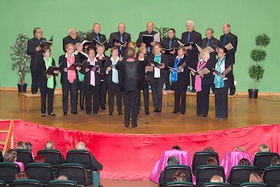 """Coro Rubagon"""" VIII encuentros musicales coro rubagón barruelo de santullan"""