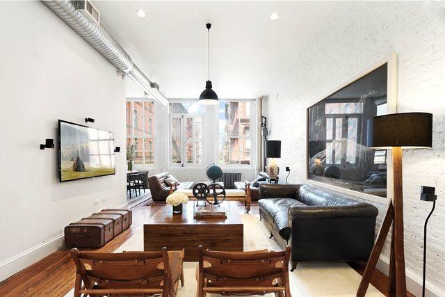 Interior piso de soltero en el soho decoracion for Decoracion apartamento 100 metros