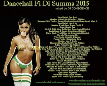 DANCEHALL FI DI SUMMER 2015 by DJ Conscience