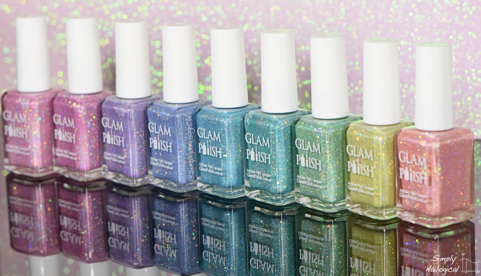 Glam Polish White Witch collection