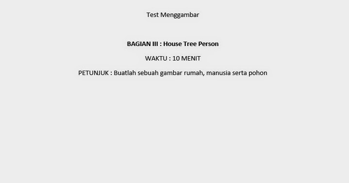 house tree person essay There are several broad categories of psychological tests  and do not necessarily reflect the views of uk essays  include the house-tree-person test, robert.