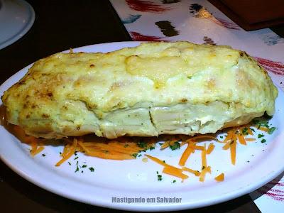 Restaurante Marinata: Pão de Alho (meia porção)