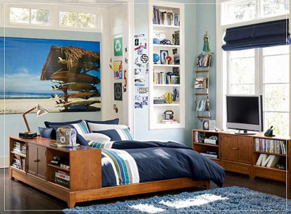Home decor ideas boy 39 s bedroom decor ideas for 2012 boy 39 s for Boys room mural