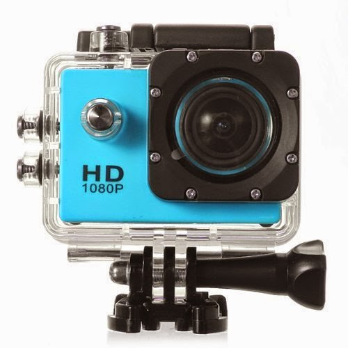 GoPro low cost azul