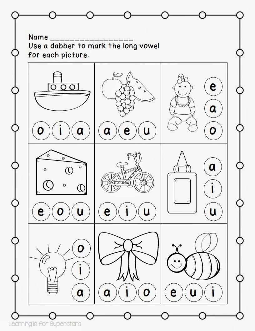 http://www.teacherspayteachers.com/Product/Long-Vowel-Printables-1079606