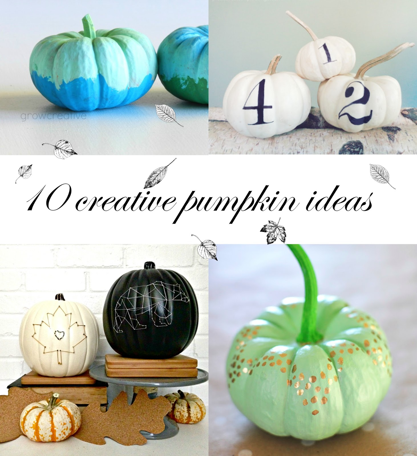 10 Creative Pumpkin Ideas