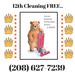 12th Cleaning FREE