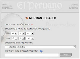 Bsqueda de Normas Legales