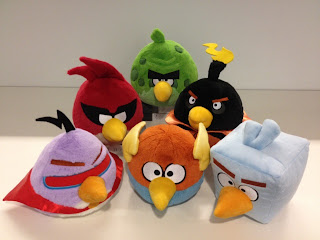 angry birds space dolls