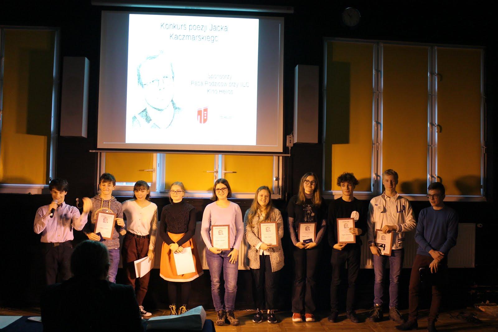 Uczestnicy Konkursu Poezji Jacka Kaczmarskiego