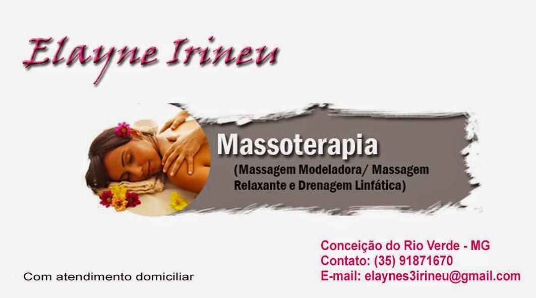 Massoterapia com Elayne Irineu