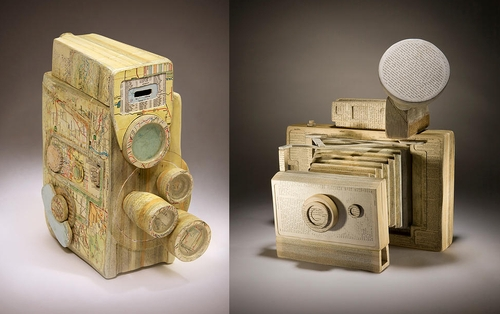 00-Ching-Ching-Cheng-Vintage-Camera-Sculptures-Made-of-Books-and-Maps-www-designstack-co