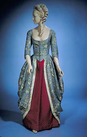Two Nerdy History Girls: Another Recycled 18th c. Silk Gown – with a ...