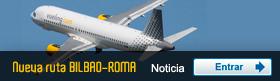 Bilbao-Roma con Vueling desde el 31 de marzo