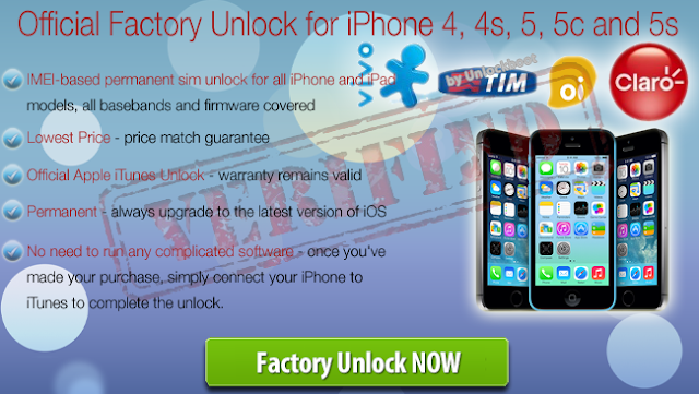 Unlock iPhone Brazil