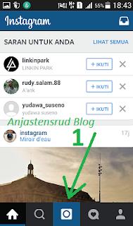 cara kirim foto dan video ke instagram
