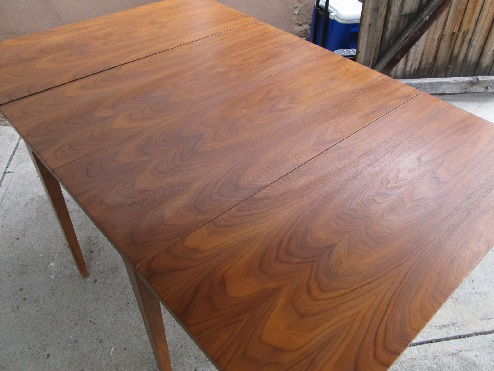 New Mid Century Dining Drop Leaf Table SOLD