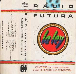 """Radio futura - """"La Ley"""" (1984) - cassette"""