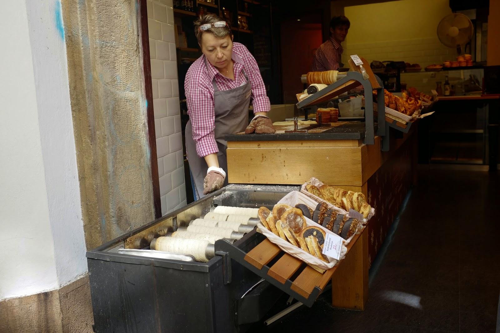 Krusta Trdelník pastry prague